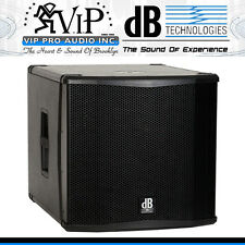 "DB Technologies SUB 15H 15"" Portable PA DJ / Club Active Class-D Subwoofer 1400W"