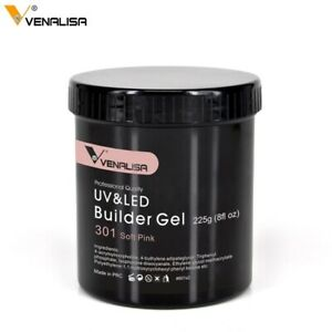 Venalisa Soak Off LED Acrylic  Extension French Camouflage Builder Gel 8oz 225g