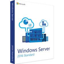 Windows Server 2016 Standard | Vollversion | 64 bit | 16-Core | Key Sofort