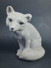 Stone Sparkle Fox Figurine