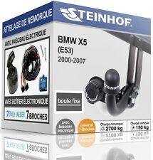 ATTELAGE fixe BMW X5 E53 2000-2007 + FAISC.UNIV. 7broches KIT
