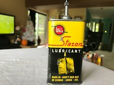 Vintage lead top oil can gas oil advertising