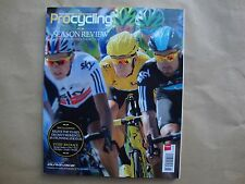 Procycling Magazine Season Review 2012 Team Sky Tour De France Bradley Wiggins