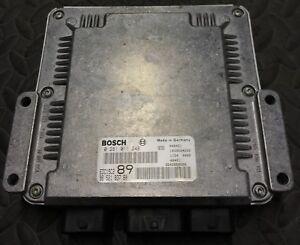 Calculateur PEUGEOT CITROEN EDC15C2 3 PLUGS 2.0 HDI 9652183780 0281011248