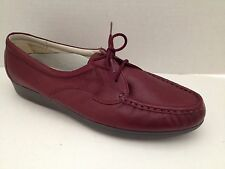 Rockport RocSports Shoes Womens Size 8 M Maroon Lace Up Oxford 8M Leather