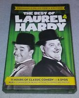Laurel and Hardy (DVD,6-Disc Set, Premium Collectors Edition) *RARE oop