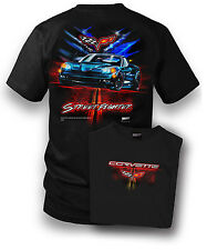 Wicked Metal Men's Corvette C6 Street Fighter Shirt