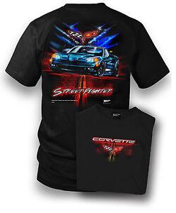 Wicked Metal Men's Corvette C6 Street Fighter Shirt