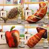 Stylish Food Fish Shape Pillow Soft Lumbar Back Waist Cushion Plush Pillow
