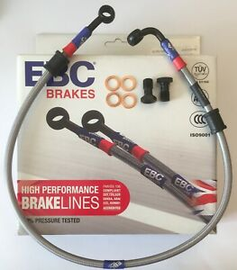 Yamaha YZFR125 (Non ABS) (2008 to 2015) EBC REAR Stainless Braided Brake Line