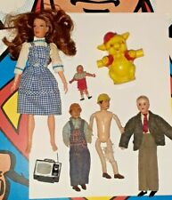 Vintage Mego Dorothy Wizard of Oz Irwin Piggy Dolls House People Figures toy lot