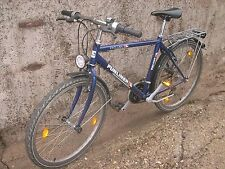 """Fahrrad Funliner Exclusiv Mountain-Bike Trekkingbike 26""""blau Neu"""