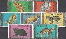 Timbres Chats Mongolie 1545/51 ** lot 15825