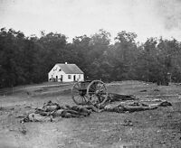 Confederate Rebel Dead Dunker Church Antietam Sharpsburg 8x10 Civil War Photo