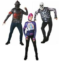 Official Fortnite Adult Costume - Brite Skull Knight - Fancy Dress For Book Week