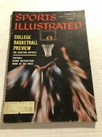 1959 Sports Illustrated WEST VIRGINIA Jerry WEST College Basketball Preview RUPP
