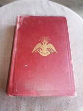 1945 ALBERT PIKE MORALS & DOGMA SOUTHERN JURISDICTION FREEMASONRY HC BOOK