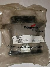 CROUSE HINDS COOPER X8062-27 4 POLE 6 AWG 40 AMP 600 OVAL CONNECTOR FEMALE PLUG