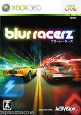 Used Xbox 360 Blur Racerz MICROSOFT JAPAN JP JAPANESE JAPONAIS IMPORT