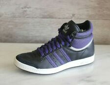 Adidas Top Ten Hi Sleek Leather High Top Sneakers Women's Leather Shoes US-5.5