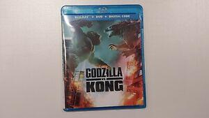 Godzilla vs Kong blu ray movie