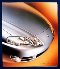 Prospekt brochure 1995 Lexus Coupé (USA)