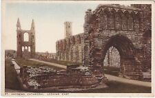 The Cathedral Looking East, ST. ANDREWS, Fife
