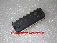 10PCS HD74LS163AP SN74LS163N 74LS163 DIP-16 Original IC