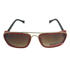 Red and Gold Side Shield Sunglasses Tony Stark Iron Man 3 Costume Robert Downey