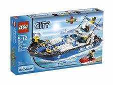 LEGO 7287 City Police Boat Play Set RETIRED Brand New and Sealed