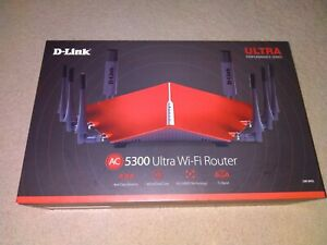 D-Link AC5300 DIR-895L MU-MIMO Ultra Wi-Fi Tri-Band Gaming Router 4K 5.3Gbps