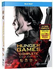 HUNGER GAMES - LA COLLEZIONE COMPLETA (4 BLU-RAY) con Jennifer Lawrence