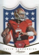 2013 Prestige NFL Shield #20 Colin Kaepernick - NM-MT