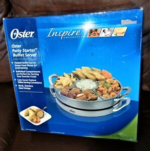 Oster Party Starter Heated Buffet Server-Fab for any Occasion NIB
