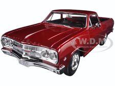 1965 CHEVROLET EL CAMINO METALLIC RED 1/25 DIECAST MODEL CAR BY MAISTO 31977