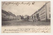 AK Oberpfalz Eschenbach Oberer Stadtplatz von Osten 1904