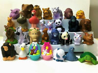 random Lot 30pcs Fisher Price Little People Zoo Farm Animals Figure kid toy doll