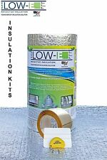 "(2 Pack) ESP Low-E SSR Reflective Foam Core Insulation Kit: Roll Size 24""x25'"