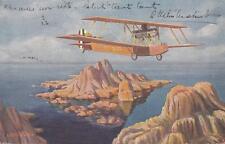 A8106) AVIAZIONE, ALI D'ITALIA VOLO DI UN CAPRONI VIAGGIATA DA TRIPOLI NEL 1927