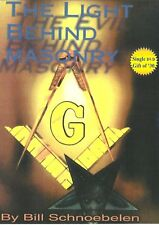 THE LIGHT BEHIND MASONRY - DVD by Bill Schnoebelen, 2006 **BRAND NEW**