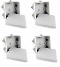 Scatola di derivazione 4x IP55 nominale resistente alle intemperie per telecamera CCTV, cavo, connettori