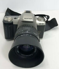 Pentax ZX-50 Camera With Sigma 28-80mm 1:3.5-5.6 MACRO Lens Good Condition