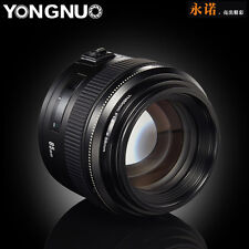 Yongnuo 85MM F/1.8 YN85 AF/MF Fixed Focus Medium Telephoto Prime Lens For Canon