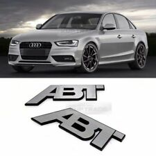 Side Front Trunk Hairline Emblem Point ABT Logo Badge Accessory for All Vehicle