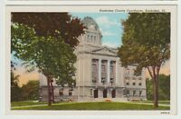Undated Unused Postcard Kankakee County Court House Kankakee Illinois IL