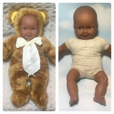 Large 38cm Adorable Baby Doll Brown Teddy Bear Suit Anne Geddes