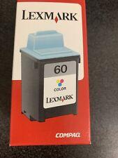 17G0060 LEX 60 Genuine New Lexmark Color INK JETPRINTER Z12 Z22 Z32 &
