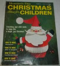 Vintage 1967 Woman's Day Christmas Ideas For Children Craft Magazine