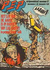 PEP 1975  nr. 17 - LUC ORIENT (COVER) / FRANK VALK (LOSSE BIJLAGE) / COMICS