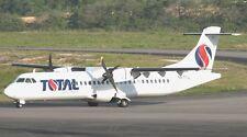 ATR-72 Total Linhas Aereas Airplane Wood Model Free Shipping